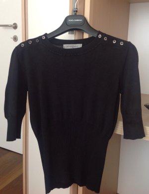 Sportmax Jersey de manga corta negro