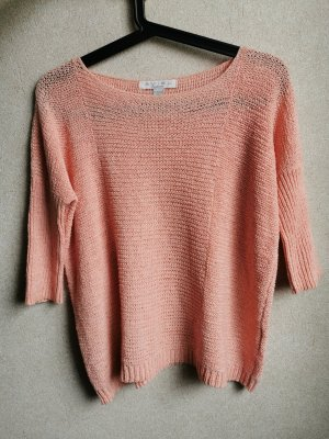 Amisu Knitted Top apricot-pink