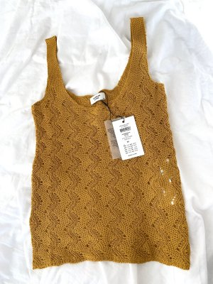 Knitted Top sand brown
