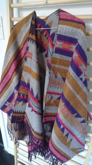Strickponcho Indio/ Cape