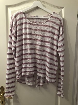 Aeropostale Knitted Sweater white-purple