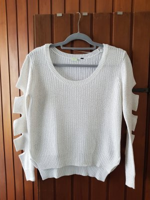 Adidas NEO Knitted Sweater white-gold-colored