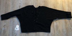 Billabong Pullover all'uncinetto nero