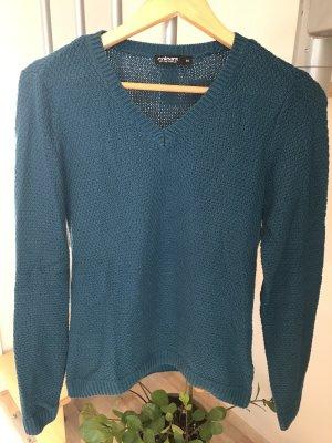 Colours of the World Maglione lavorato a maglia blu cadetto