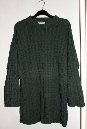 Street One Oversized Sweater forest green-khaki