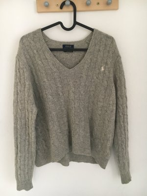 Polo Ralph Lauren V-Neck Sweater light grey