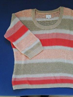 Strickpulli, Streifen, Pullover, Sommerpulli OPUS / SALE / Größe 38 - 40