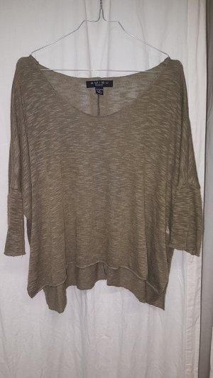 Amisu Knitted Sweater green grey