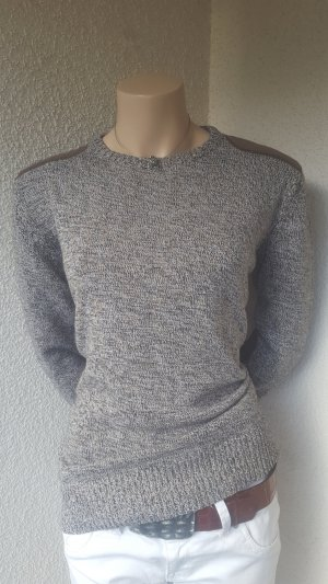 Brave Soul Knitted Sweater brown-cream