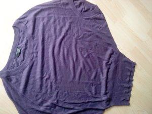 Strickpulli von Only in violett Größe M - oversized ohne Arm