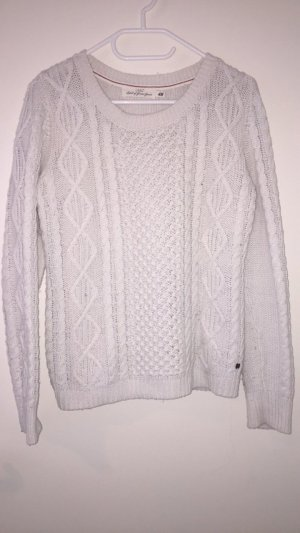 H&M Coarse Knitted Sweater white-natural white