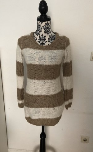 Long Sweater white-camel