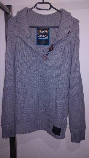 Kangaroos Jersey de lana gris