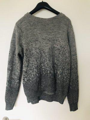 H&M Maglione lavorato a maglia grigio