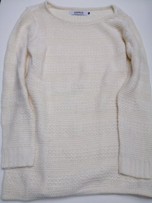 Only Knitted Jumper natural white