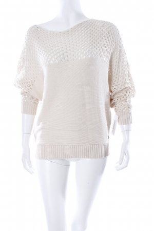 Strickpullover beige Casual-Look