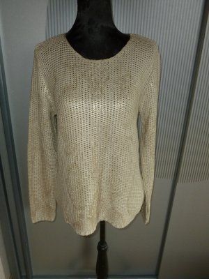 Crisca Knitted Sweater beige