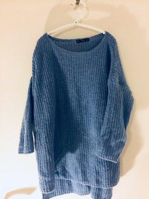 Strickpullover blau Zara