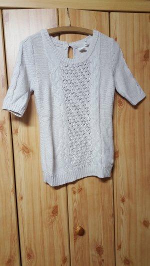 H&M L.O.G.G. Maglione lavorato a maglia bianco sporco-crema
