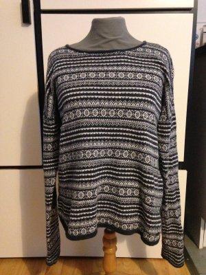 H&M L.O.G.G. Pull tricoté multicolore