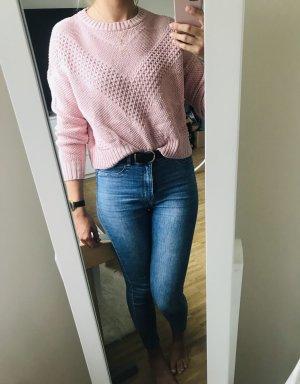H&M Maglione lavorato a maglia rosa-rosa chiaro