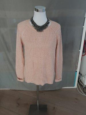 Maglione oversize rosa pallido