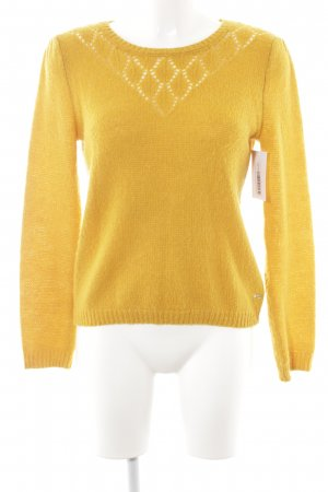 Strickpullover goldorange Casual-Look