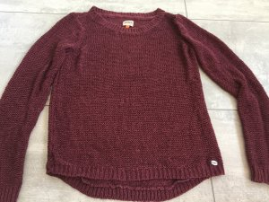 Strickpullover in brombere von only