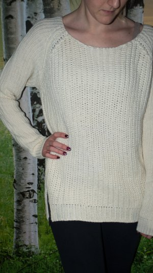 Strickpullover in Creme