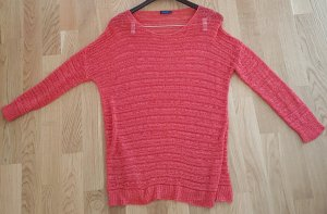 Strickpullover in Flamingo-Rosa (L) von Darling Harbour