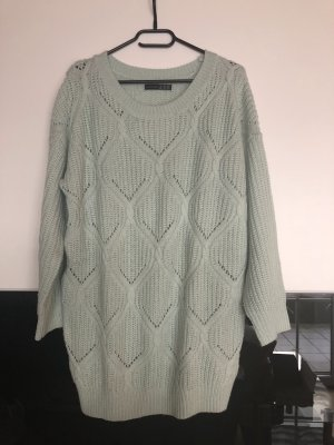 Strickpullover in Mintgrün