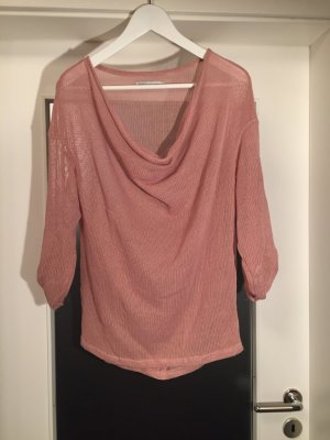 Strickpullover in rosa/lachs