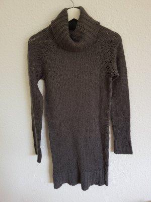 Zara Knit Robe pull gris-gris foncé