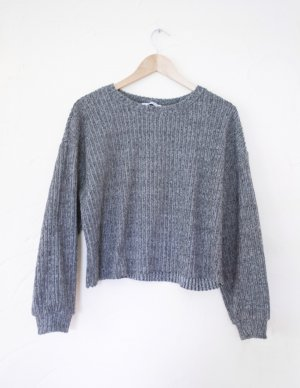 Zara Trafaluc Jersey de lana gris