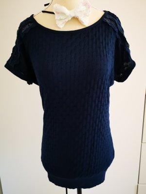 Robin Camisa tejida azul oscuro