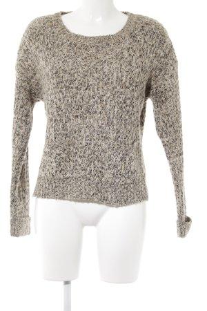 Maglione lavorato a maglia multicolore stile semplice