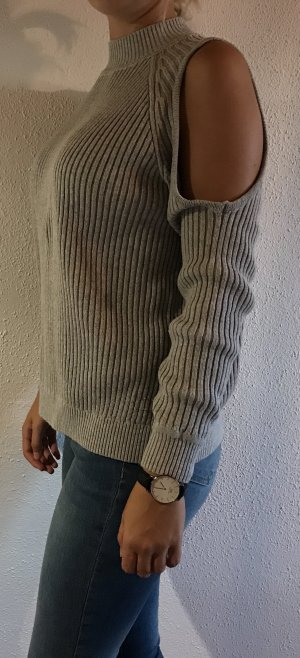 Strickpullover mit Cut-Out