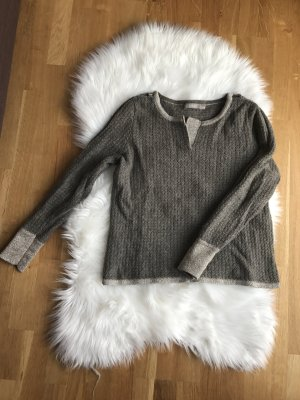 Sweater silver-colored