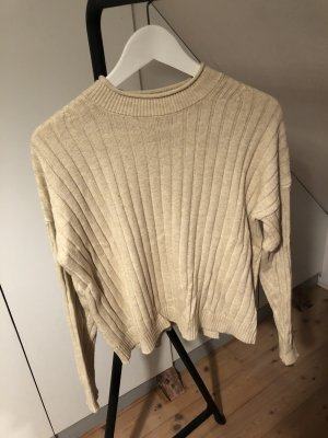 Abercrombie & Fitch Knitted Sweater cream