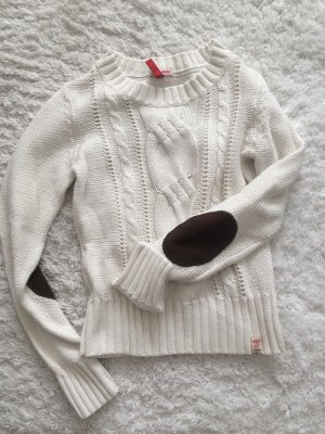 Strickpullover mit Patches QS by S. Oliver