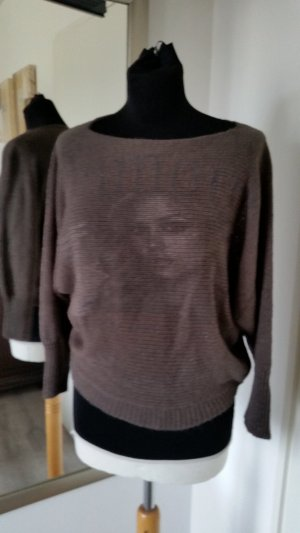 Knitted Top grey brown-anthracite