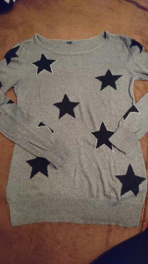 Strickpullover mit Sternen Gr.S