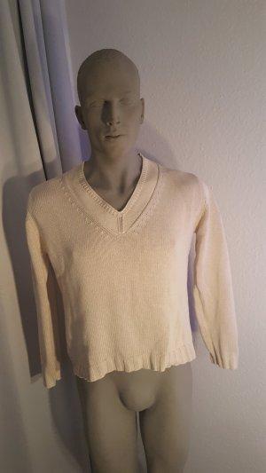 Olsen V-Neck Sweater oatmeal