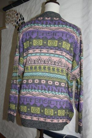 Strickpullover / Pullover / Pulli / Gr. M / lila,gelb,schwarz,türkis, rosa / wie NEU !