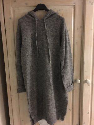 H&M Pull à capuche gris-gris clair