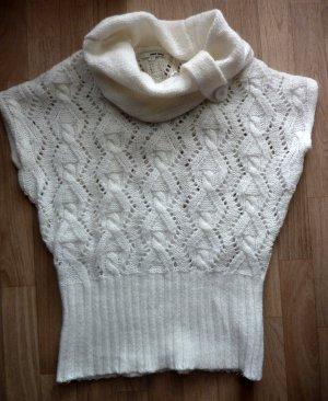 Strickpullover Rollkragen Pullover off white Turtleneck Pulli creme weiss 38 40