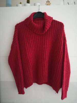 Strickpullover (rot)