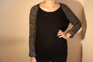 Atmosphere Coarse Knitted Sweater multicolored polyacrylic