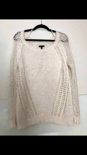 Apart Fashion Knitted Sweater white