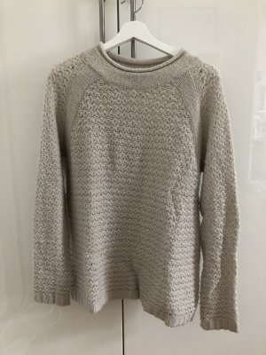 Esprit Wool Sweater natural white